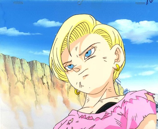 Android18BeatUp