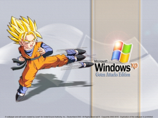 Goten Attacks WinXP